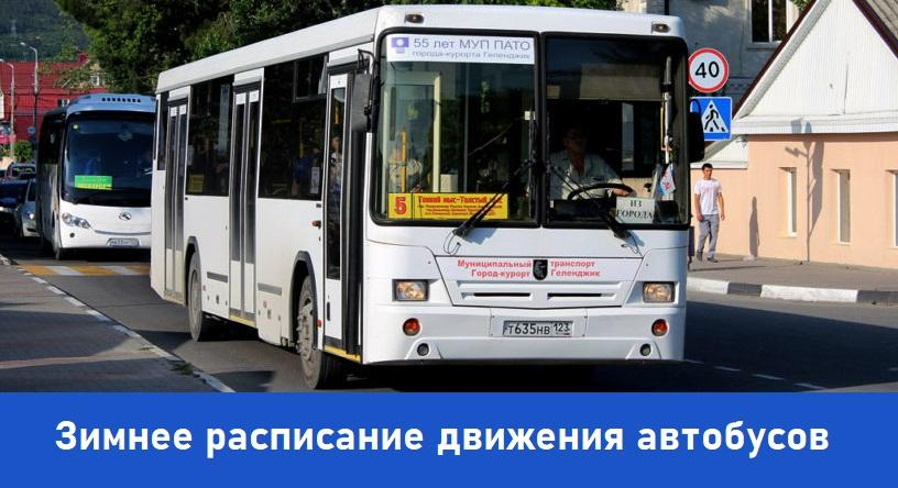 Геленджик автобусы