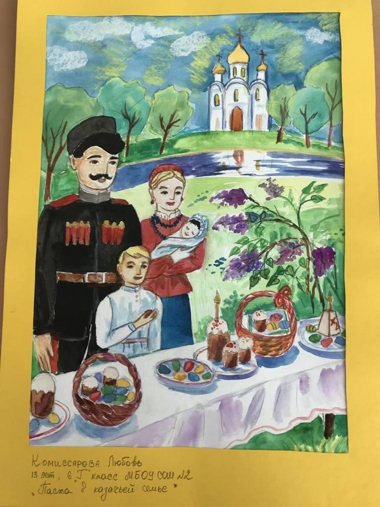 Картинки на тему кубанская пасха