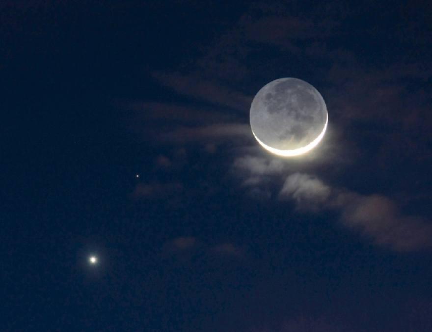 moon venus mars - 880×678